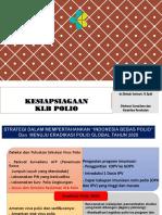 Bahan Kesiapsiagaan KLB Polio Papua Tgl 25-26 Oktober 2018 Di Cordela Hotel