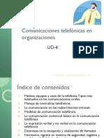 4_comunicaciones Telefónicas en Las Organizaciones