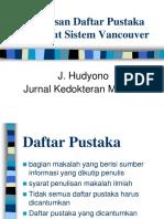 Penulisan Daftar Pustaka 2013
