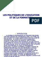 Politiques Éducatives Dr Kouadio Alice
