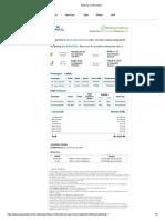 Delhi Varun Flight Booking Confirmation 23 07 2018