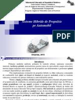 Sisteme Hibride de Propulsie Pe Automobil