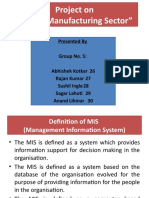 36841939-MIS-in-Manufacturing-Sector.pptx