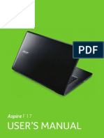 Acer Notebook User Manual
