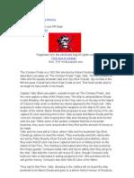 Crimson Pirate Flag History