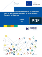 Policy Paper TI-Moldova Report