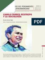 Camilo Torres Restrepo y La Sociologia
