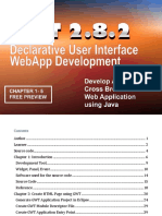 FREE GWT EBOOK PREVIEW-GWT 2.8.2 Declarative User Interface WebApp Development