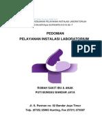 Cover Pedoman Pelayanan Instalasi Laboratorium