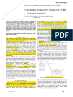 Smart Enviroment Using RFID