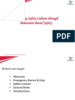 Elevating Safety Culture Through BBS