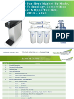 Russia Water Purifiers Market Forecast and Opportunities, 2023_Brochure