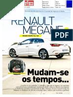 """RENAULT MÉGANE GRAND COUPÉ TCe 130 FRENTE AO HYUNDAI i30 NA """"AUTO FOCO"""""""