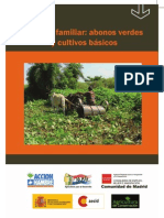 Finca Familiar; cultivos básicos y abonos verdes