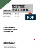 PPT Kelompok Riset Pasar Modal