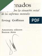 internados goffman
