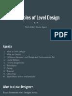 Principles of Level Design