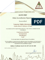 ISO 17025 Dubai Accreditation Center 1