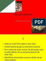 Lectura Domino