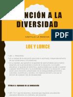Atención a La Diversidad en CLM