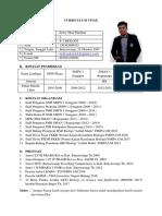 Curriculum Vitae Zefry Okta W.