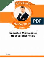 Impostos Municipais - Apostila 2015