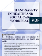 Need of Health & Safety in Social Workplace