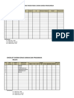 Checklist Overan
