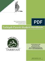 Student handbook example
