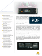 BEHRINGER_X32 RACK P0AWN_Product Information Document