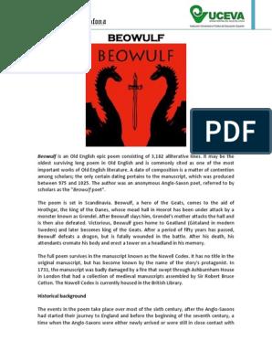 Neidorf datering av Beowulf