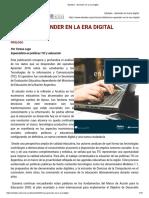 Eduteka - Aprender en La Era Digital