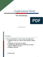 A Ipv6 Deployment Study