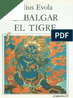 Julius_Evola-Cabalgar El Tigre