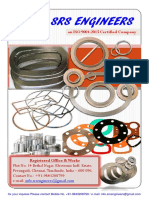Srs Gaskets Catalog - 2018