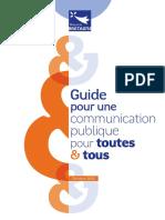 Guide Communication Pour Toutes Tous Octobre 2018