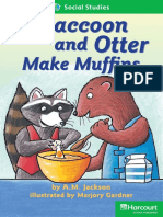 30 Raccoon and Otter Make Muffins