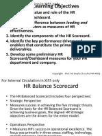 HR and Business Balancescorecard