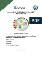 Esquema Informe Taludes en Roca y Soportes