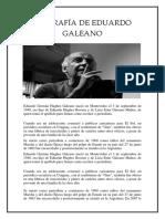 Biografía de Eduardo Galeano Kr