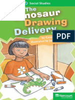 13 the Dinosaur Drawing Delivery