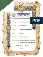 Monografia La Factura