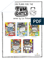 Lesson Plans for the Tom Gates series by Liz Pichon