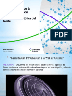 Capacitación Web of Science&EndNote UCN 2018