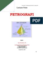 LECTURE - PETROGRAFI.doc