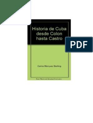 Márquez Colón Hasta De Castro c CubaDesde Historia Sterling YIbvfy76g