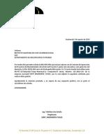 Carta Al Igss Reanudacion