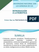 Clase N° 1 Introducción robotica Ica