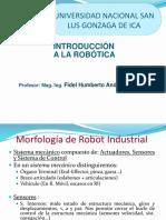 Clase N° 2a Morfología de robot - Estructura Mecánica