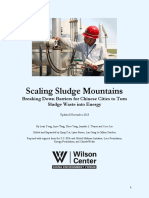 Scaling Sludge Mountains